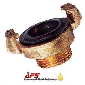 Brass Geka Type Quick Coupling x 3/8 BSPT Male Thread